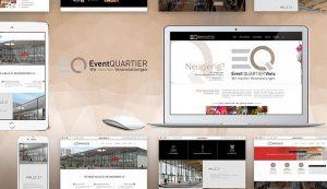 Responsive Webseite EventQuartier