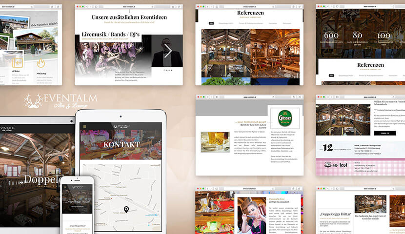 Webdesign Kunde Eventalm