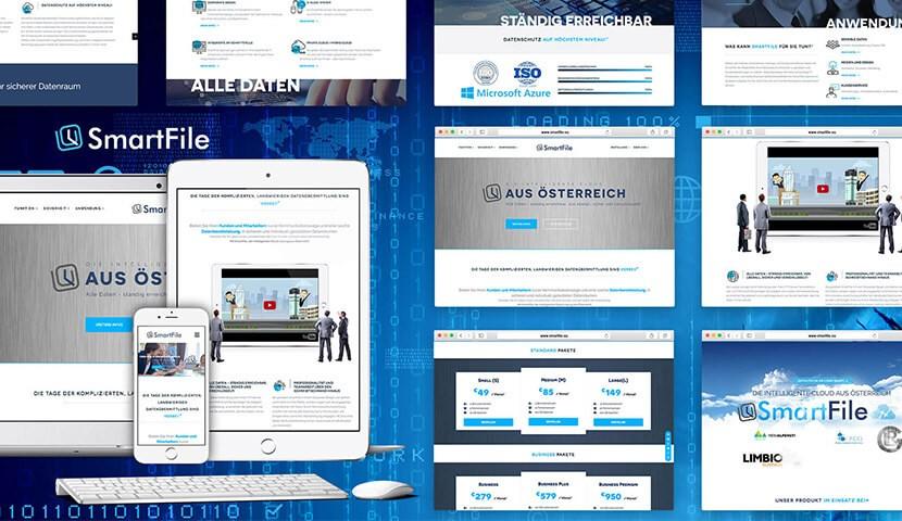 Webdesign Kunde SmartFile
