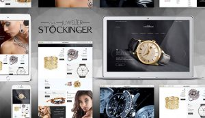 Responsive Webseite Juwelier Stockinger Wels