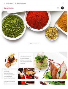 Webseite livingbistro - taste of events