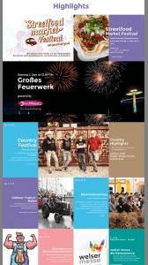 Webseite Welser Volksfest