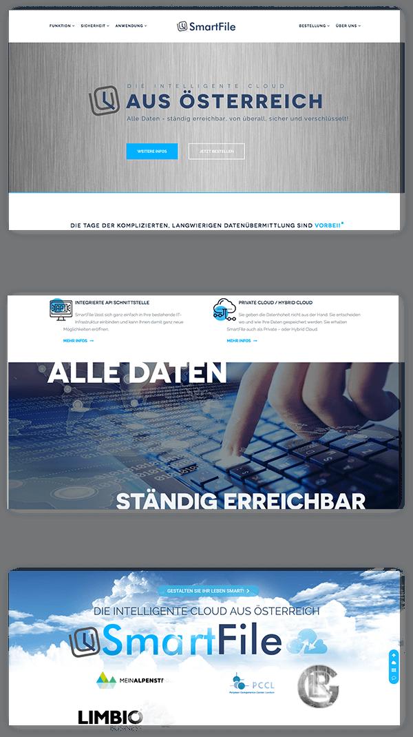 Webseite Smartfile