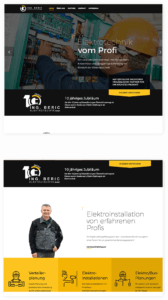 Kunde Ing. Beric Elektrotechnik Web