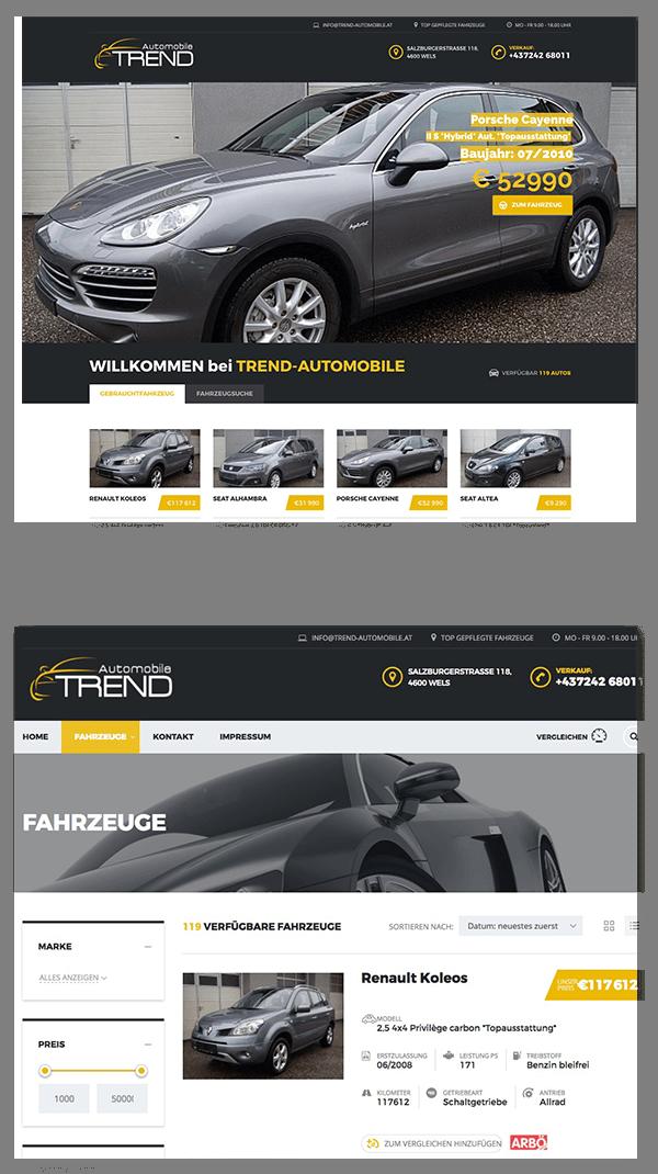 Trendautomobile GmbH Wels Gebrauchtwagen