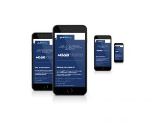 Mobile Webseite pluscar.at