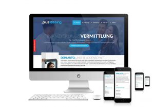 Responsive Webseite plusleasing.at