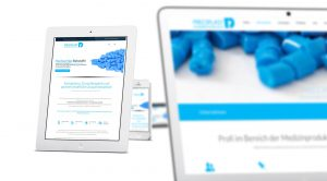 Responsive Webseite Preciplast