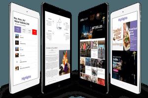 Responsive Webdesign Welser Volksfest