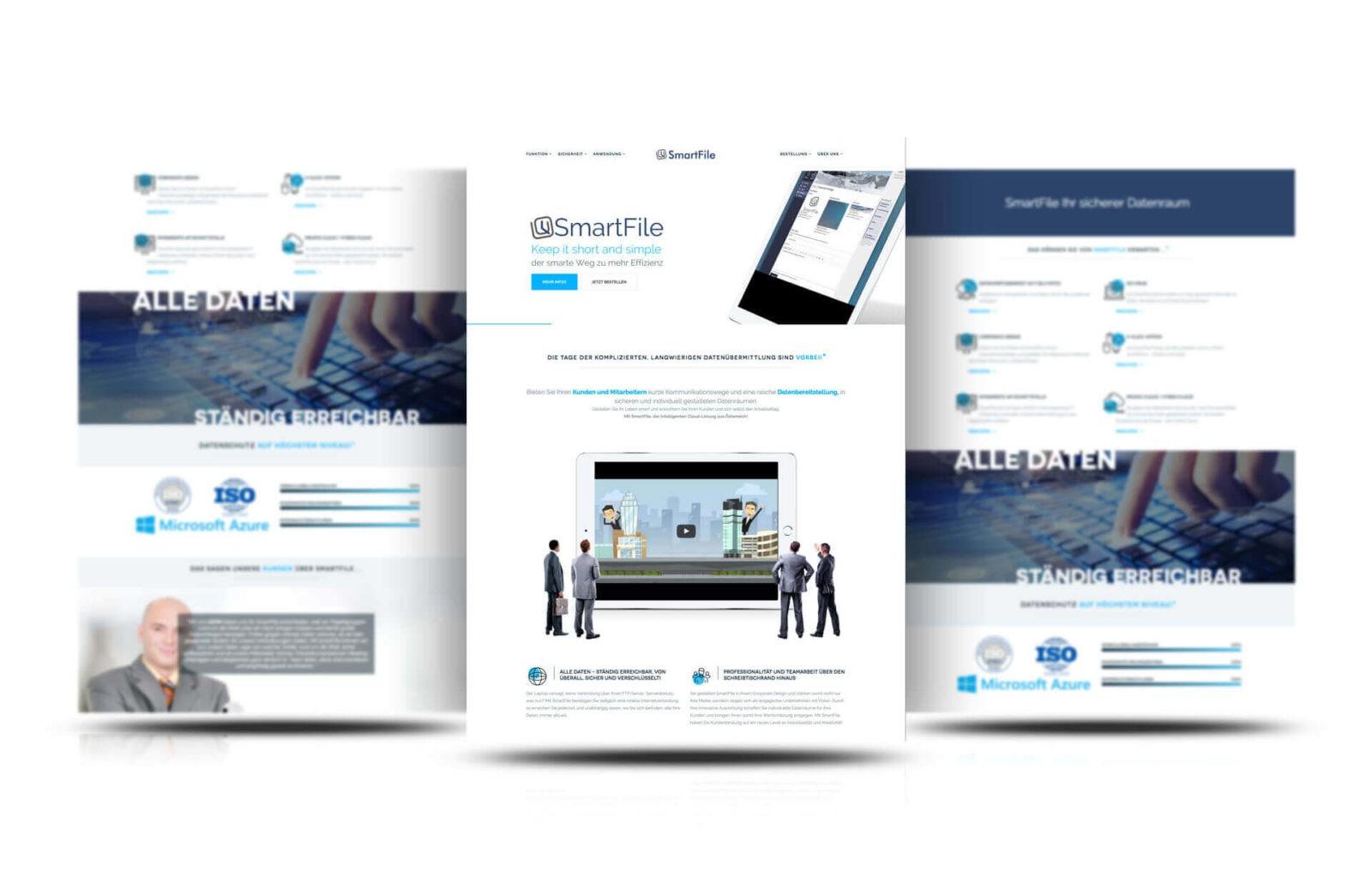 Responsive Webseite SmartFile