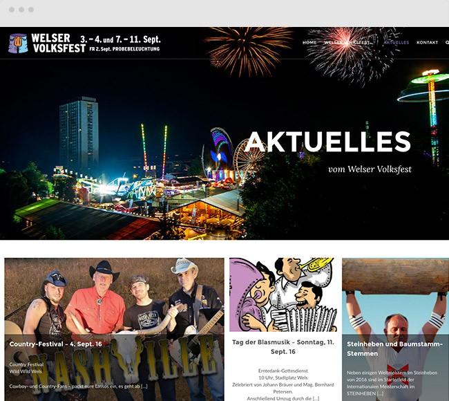 Projekt Welser Volksfest