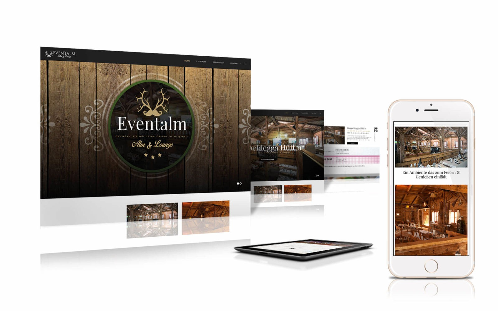 Responsive Website Eventalm.at