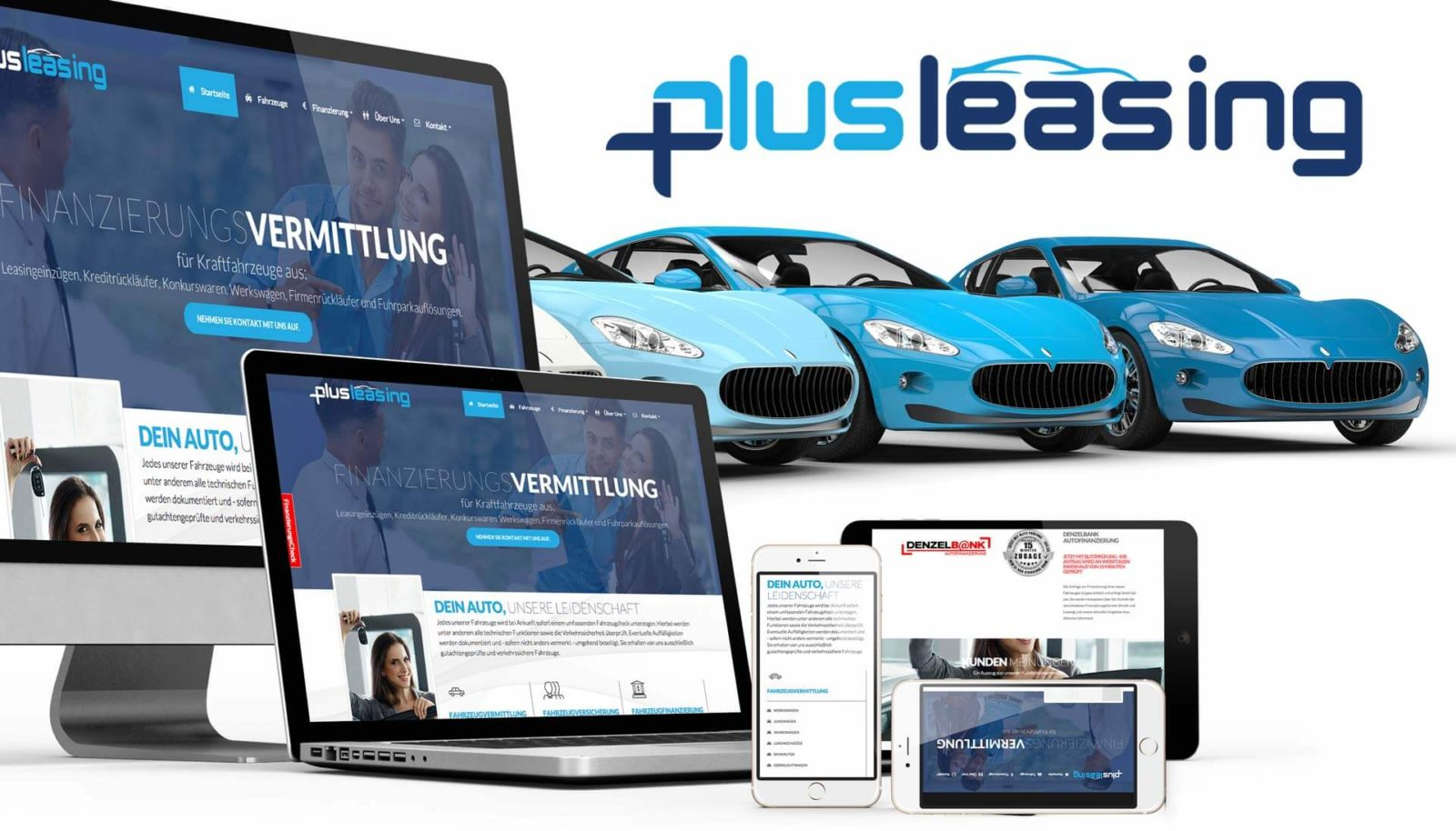 Responsive Webseiten plusleasing.at