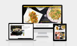 Responsive Webseite Cafe Ring18 Wels