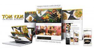 Responsive Webdesign Kunde Tomyam