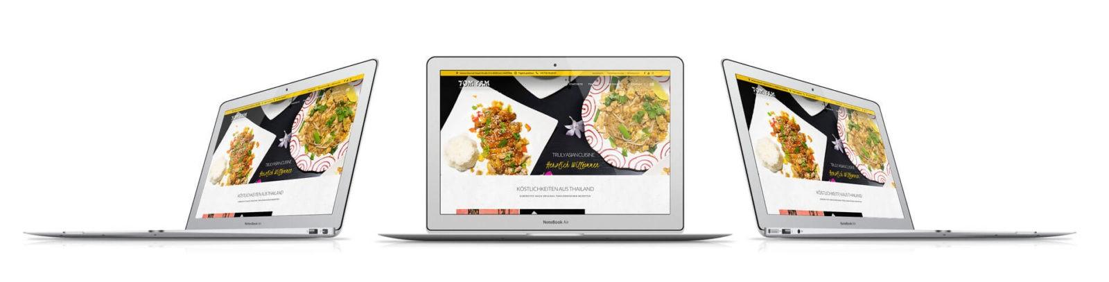 Webseite Tomyam