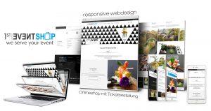 Allinone Webdesign 1stevent Catering