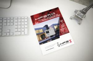 Kunde HFE Sicherheitstechnik Broschüre