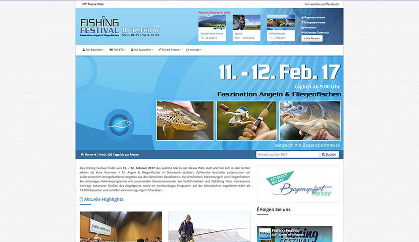 Kunde Messe Wels - Fishing