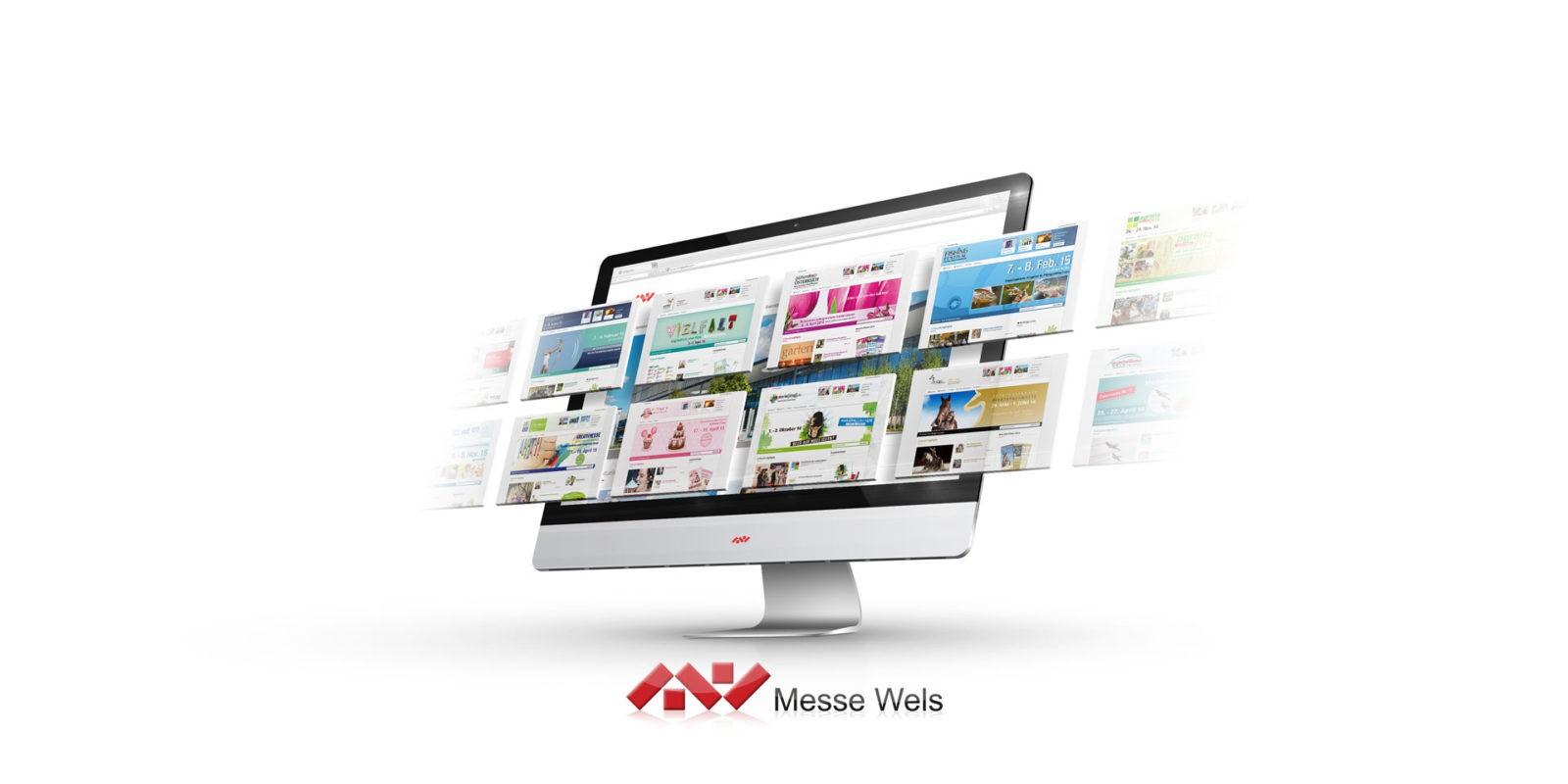 messe wels projekte - Webdesign Messe Wels GmbH