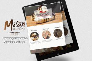 Responsive Webseite Konditorei Milan Welkovic