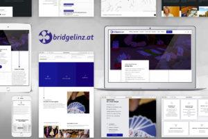 Kunde bridgelinz Webseite