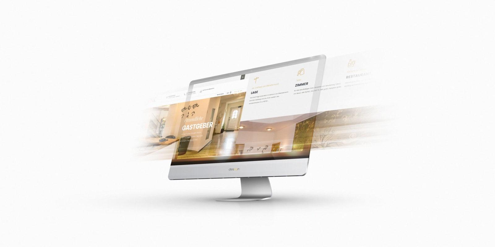 Referenz Hotel Gasthaus Denk Webseite