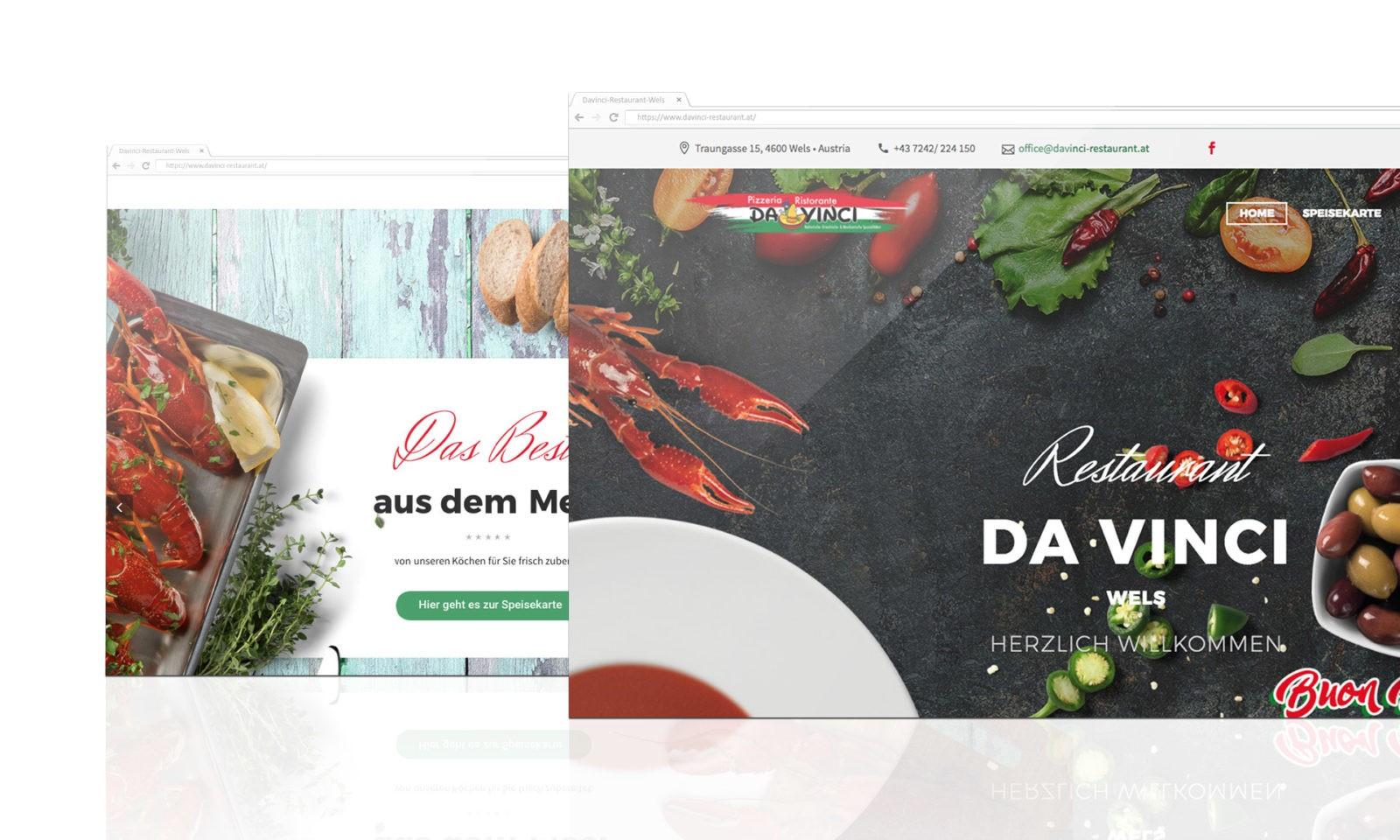 Referenz Davinci Webseite
