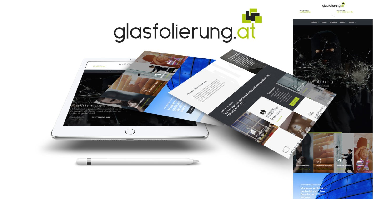 Kunde Glasfolierung.at – Folientechnik Kurzmann