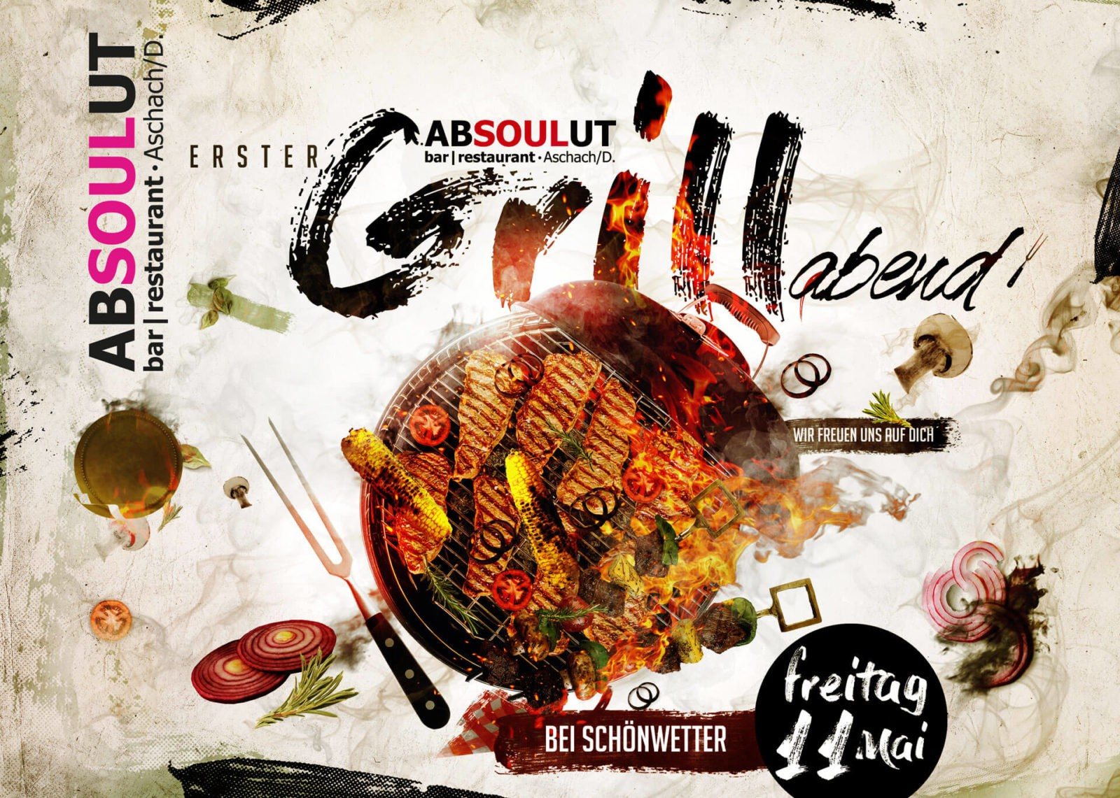 Absolut Bar Restaurant Events - Grillabend