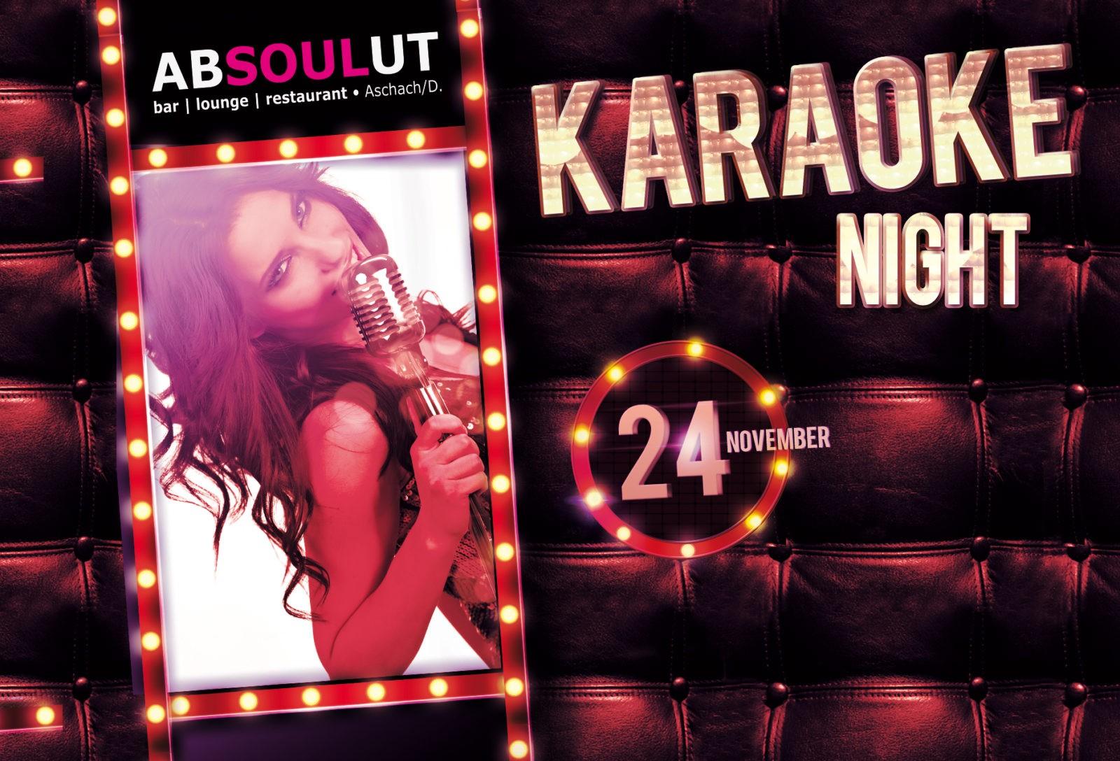 Absolut Bar Restaurant Events - Karaoke