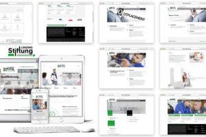 Webdesign für Kunde Lenzing-Stiftung - Webdesign Trends 2018