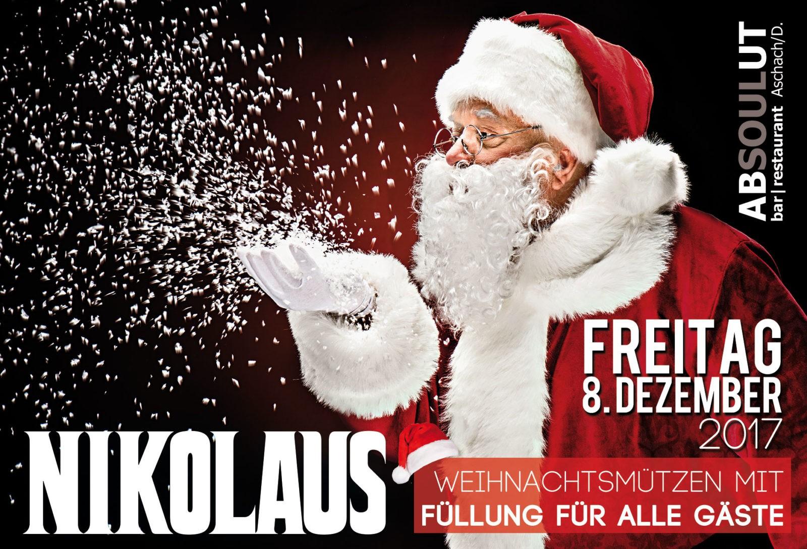 Absolut Bar Restaurant Events - Nikolaus