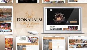 Webdesign für Donaualm Linz