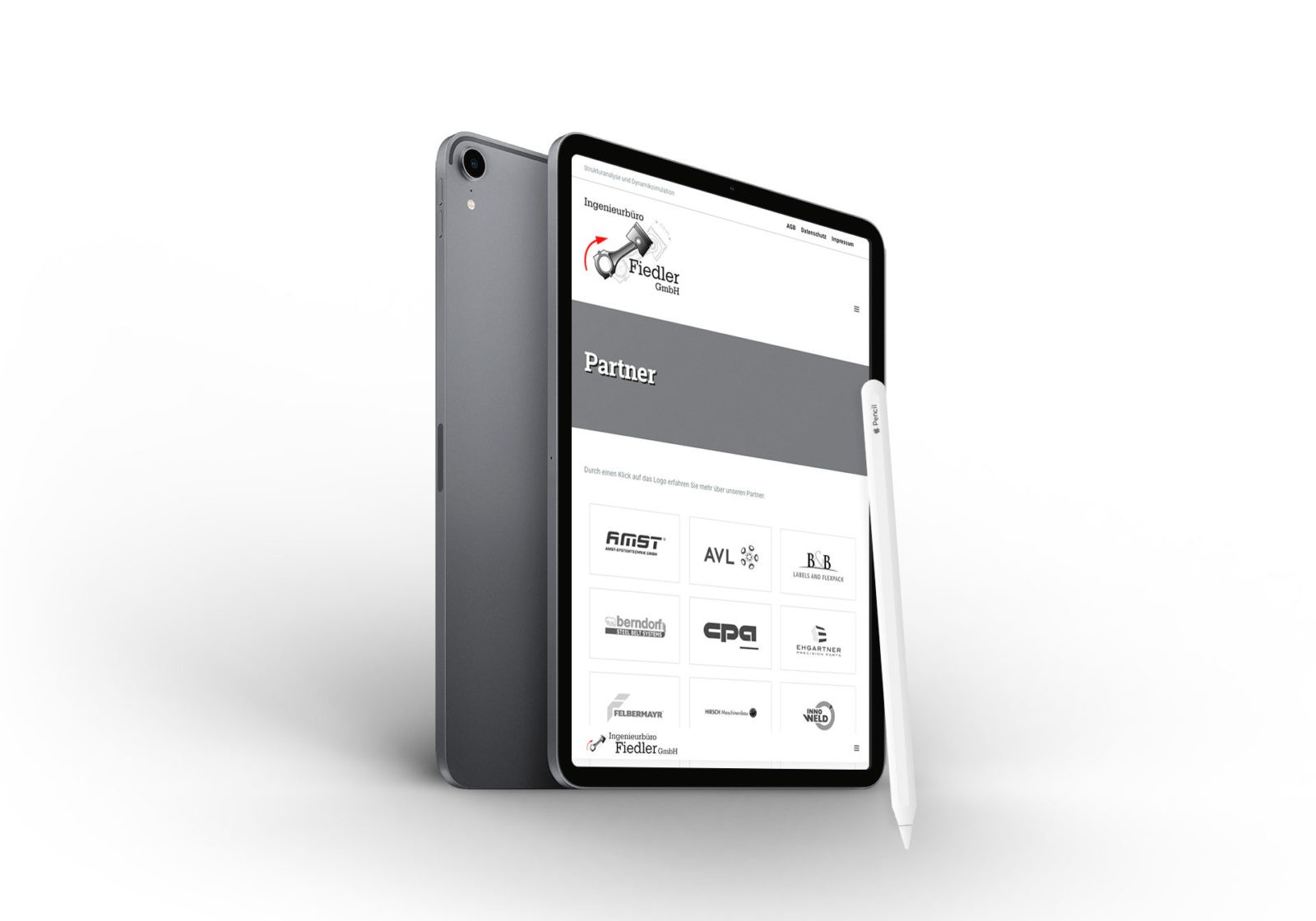 Mobile Geräte geeignet für Ingenieurbüro Fiedler GmbH