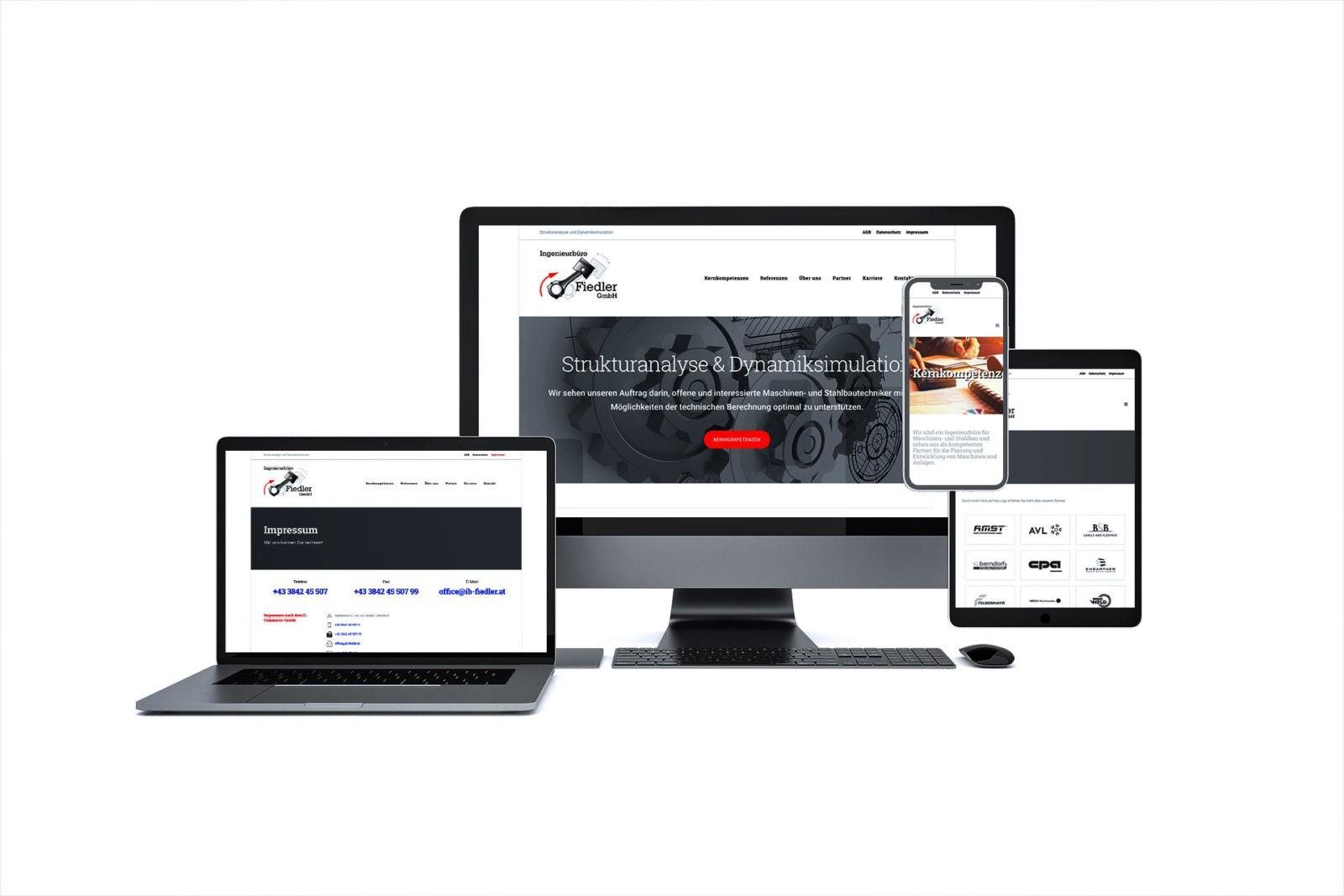 Alle mobilen Geräte geeignet - Ingenieurbüro Fiedler GmbH