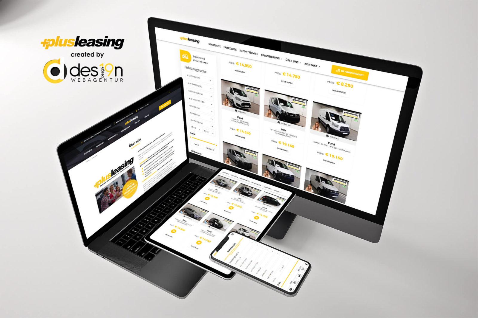 +Plusleasing.at | alle gängigen mobilen Geräte
