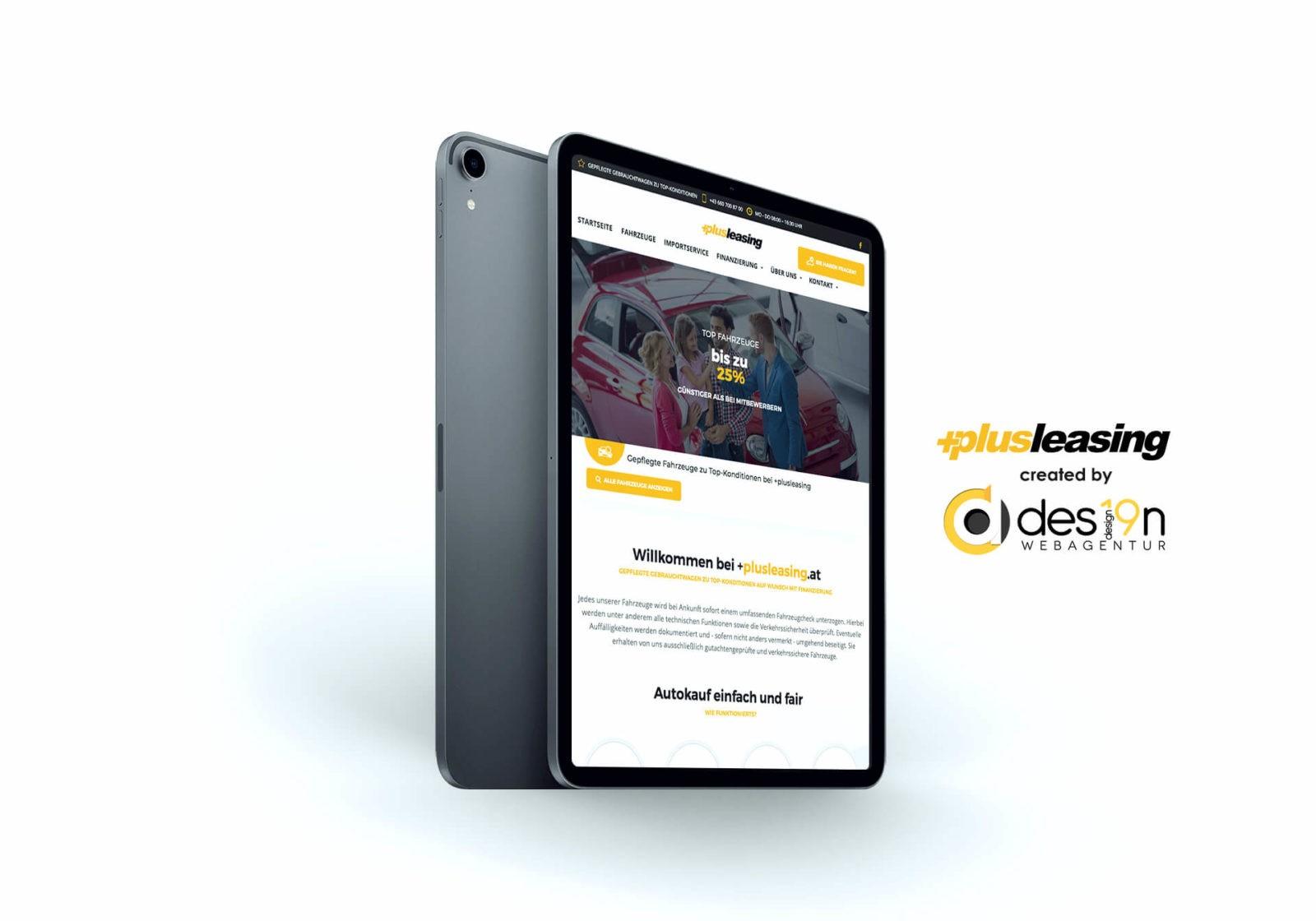 +Plusleasing.at | mobile Ansicht hochgestellt