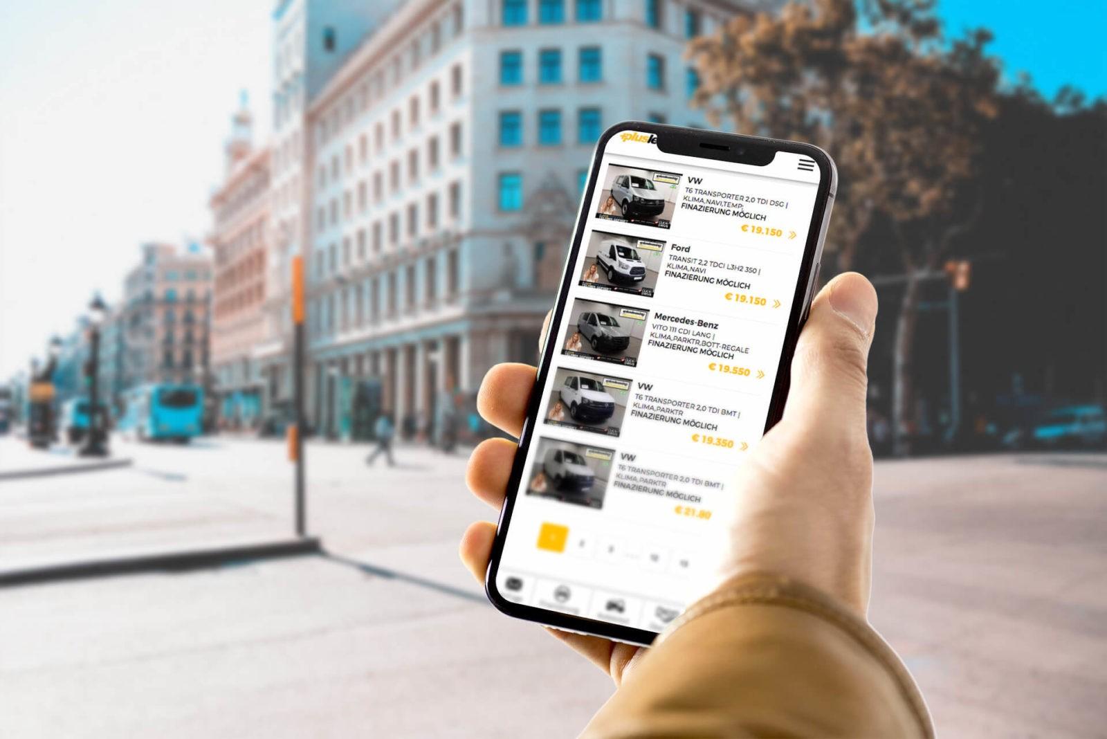+Plusleasing.at | mobile Ansicht für Fahrzeuge