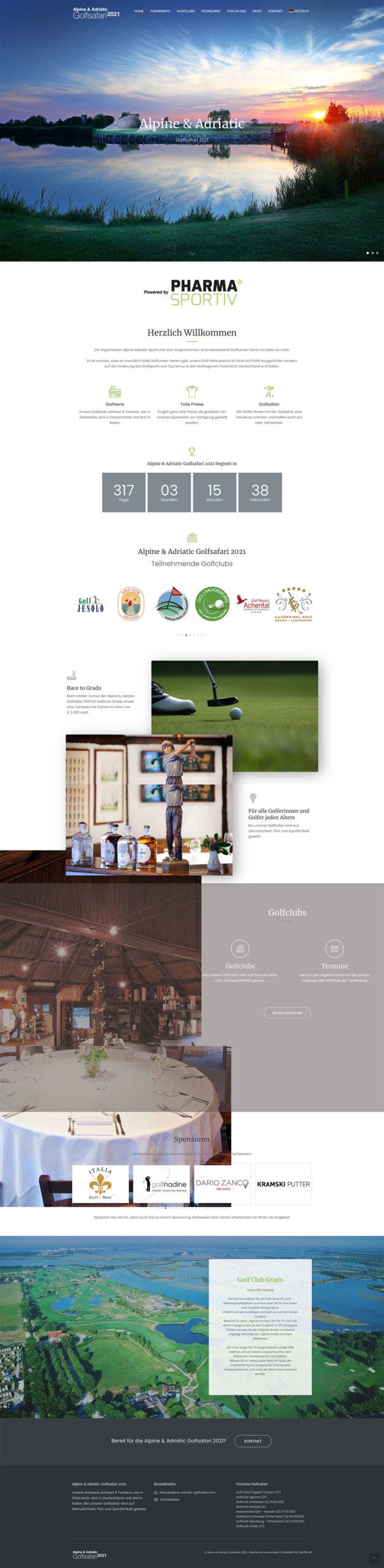 Kunde Alpine & Adriatic Golfsafari 2021