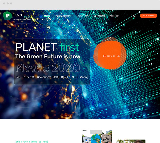 Kunde PLANET first Messe 2020