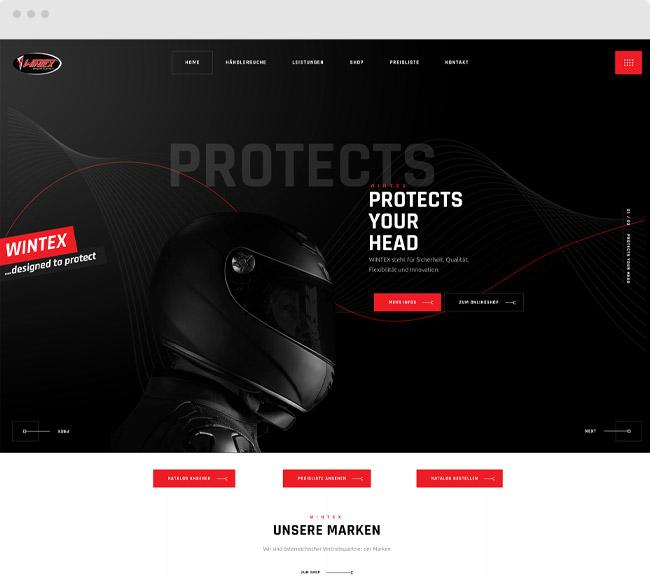 Kunde WINTEX Motorradbekleidung
